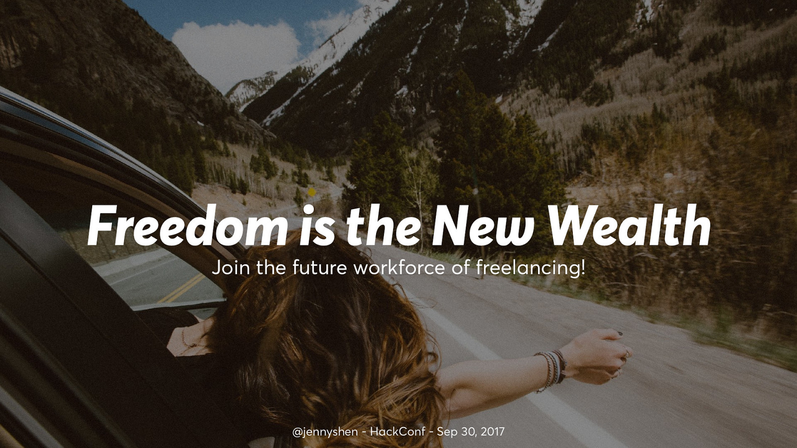 Freedom is the new wealth—Join the future workforce of freelancing