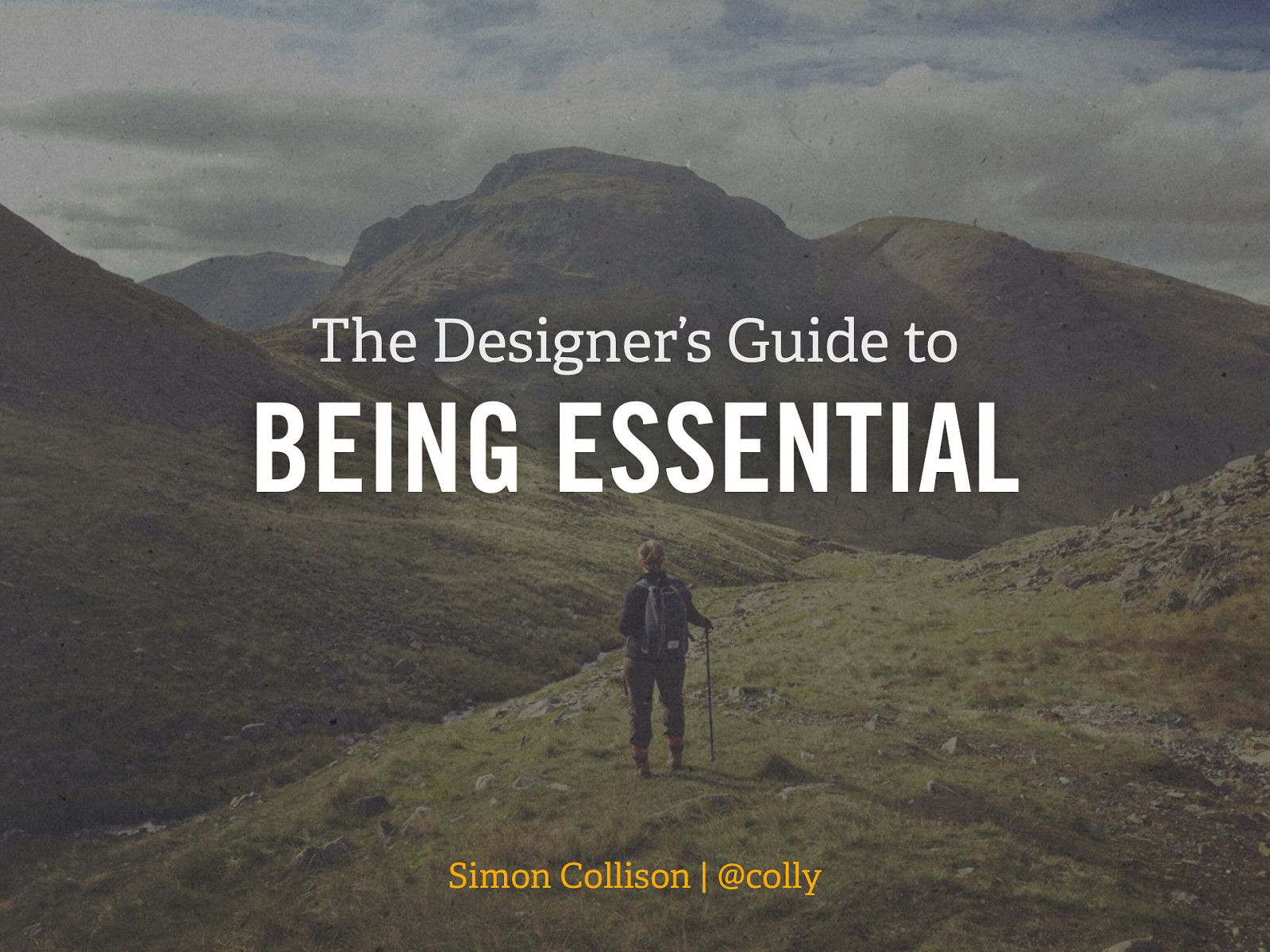 The Designer's Guide to Being Essential