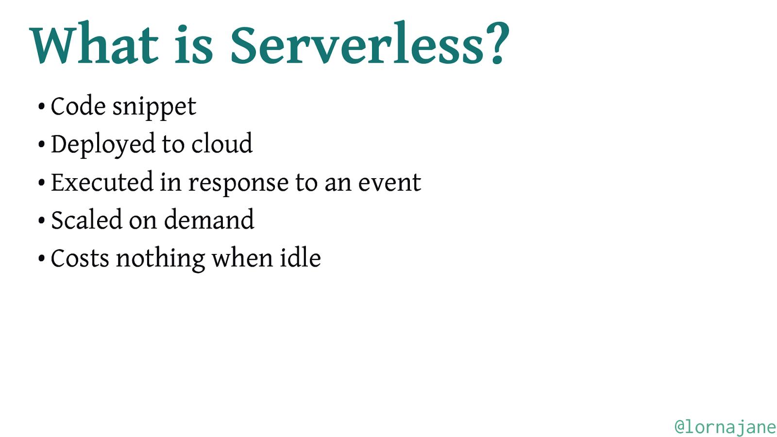 Serverless Computing with Apache OpenWhisk
