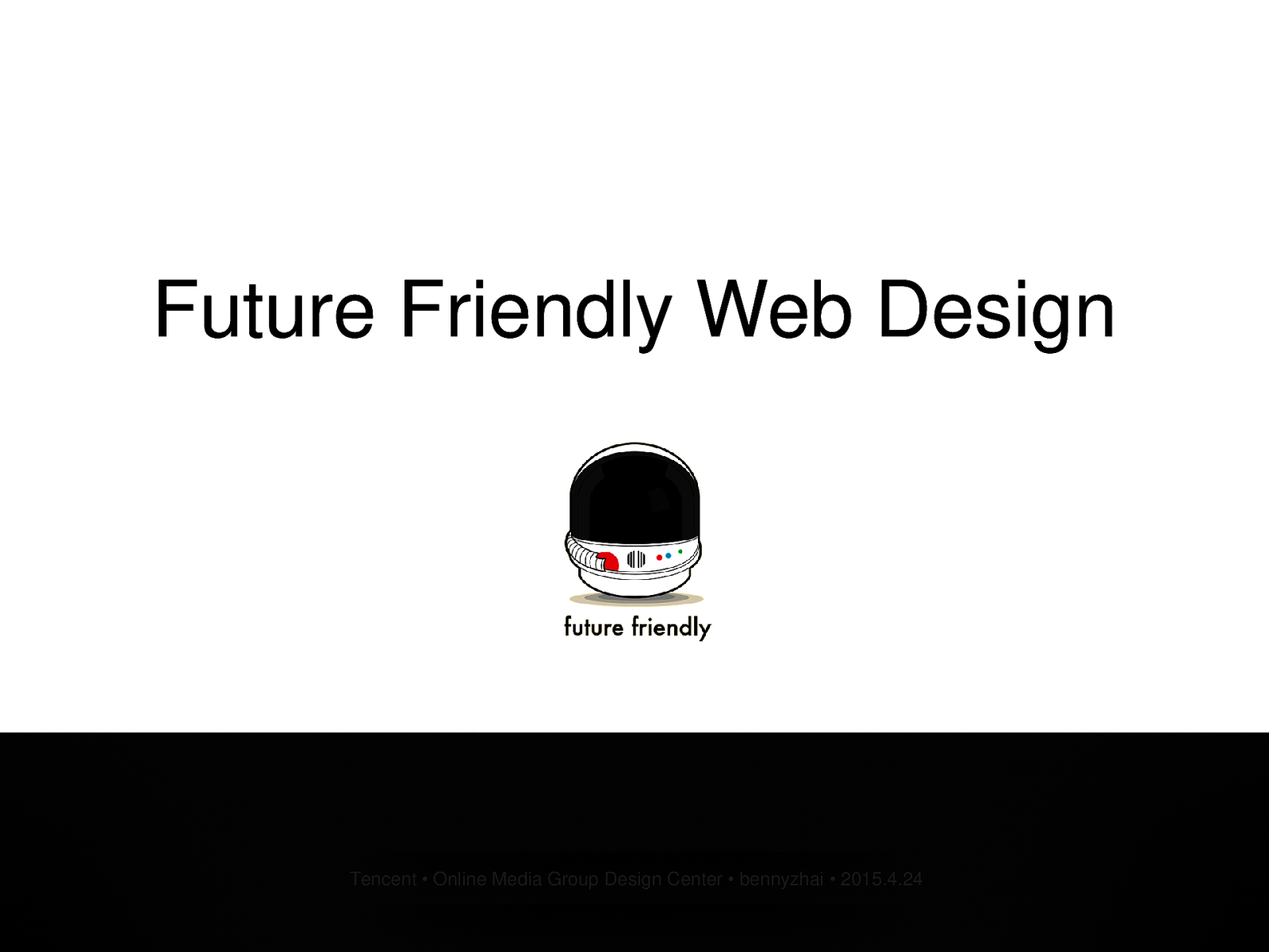 Future Friendly Web Design