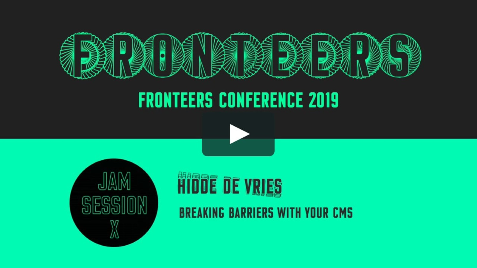 Breaking barriers with your CMS