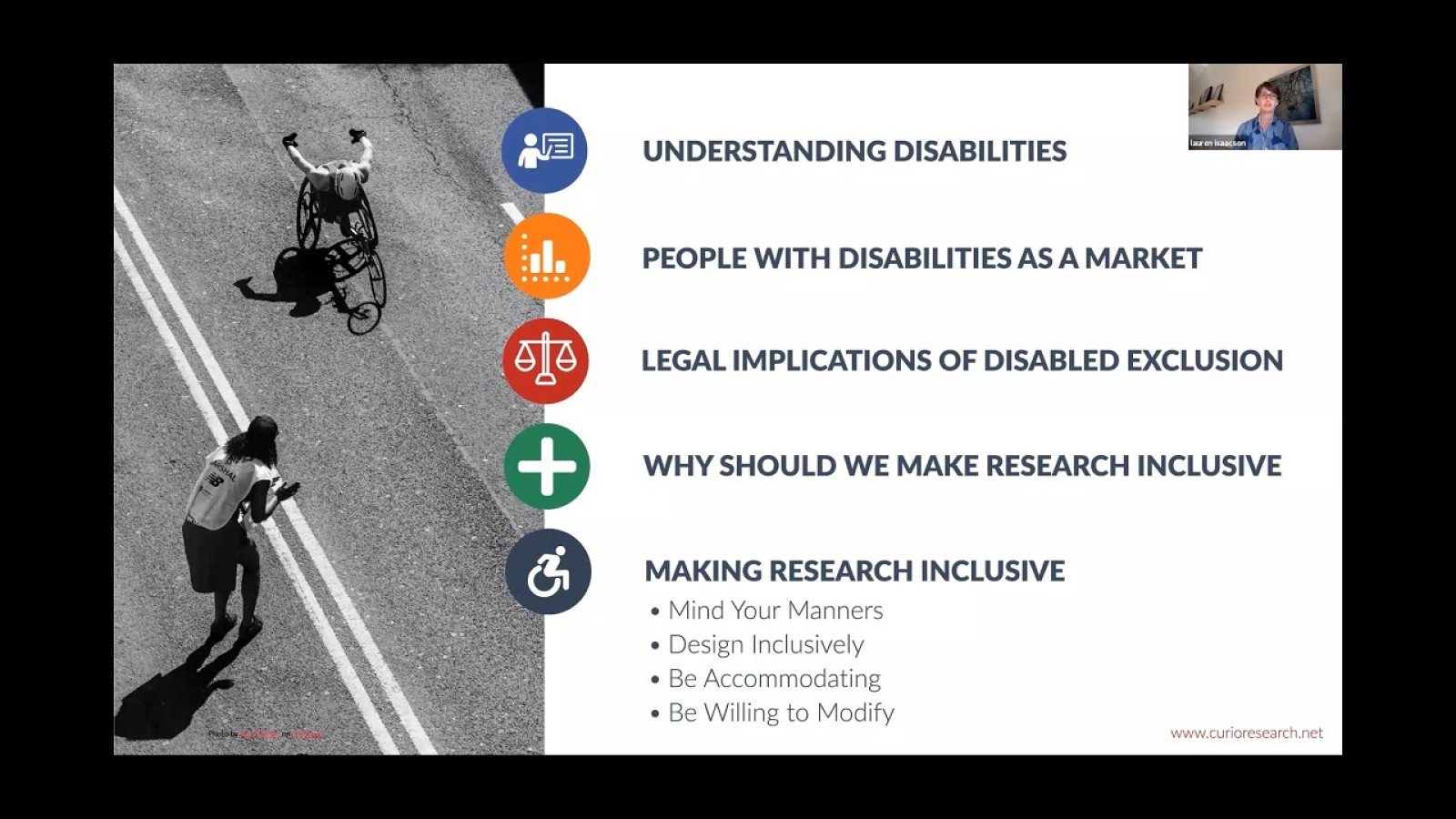Inclusive Research: Making research accessible to people with disabilities