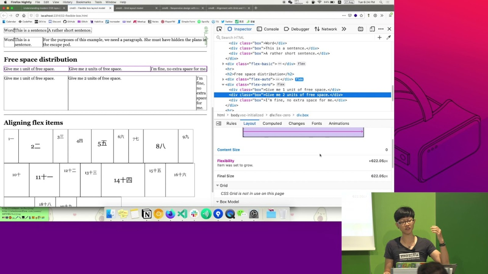 Understanding modern CSS layouts with Firefox DevTools