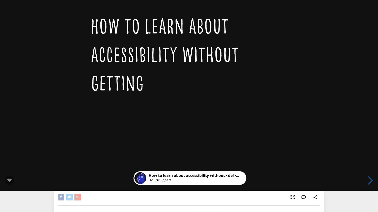 How to Improve Your Project's Accessibility Without Getting Frustrated (Short)
