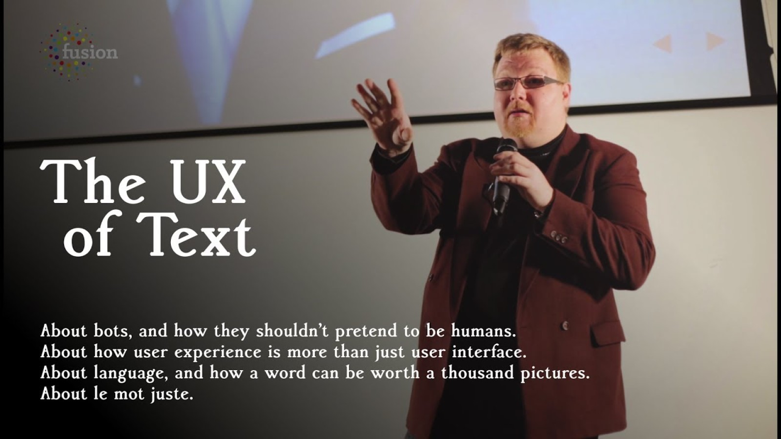 The UX of Text