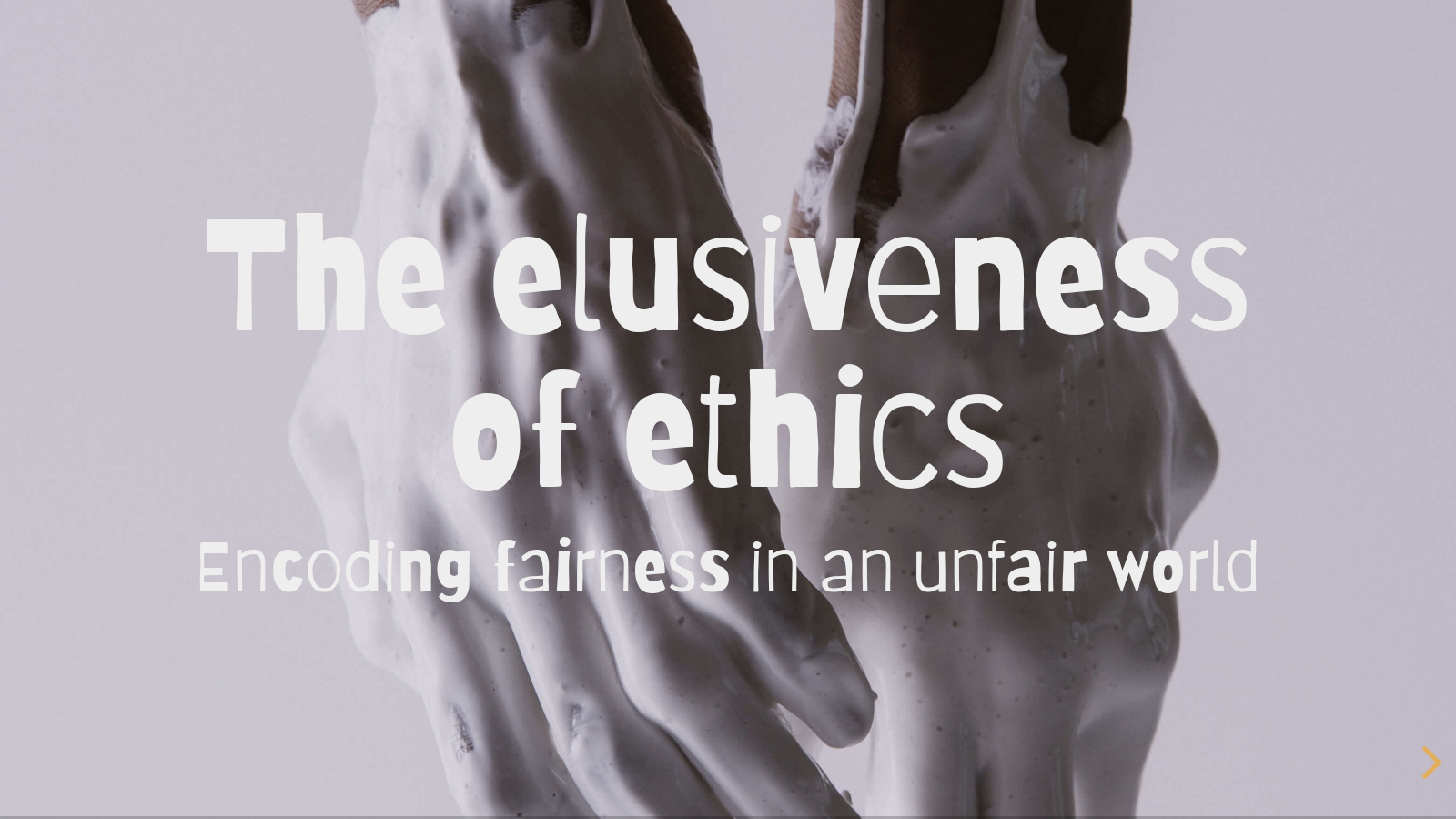 The elusiveness of ethics: encoding fairness in an unfair world