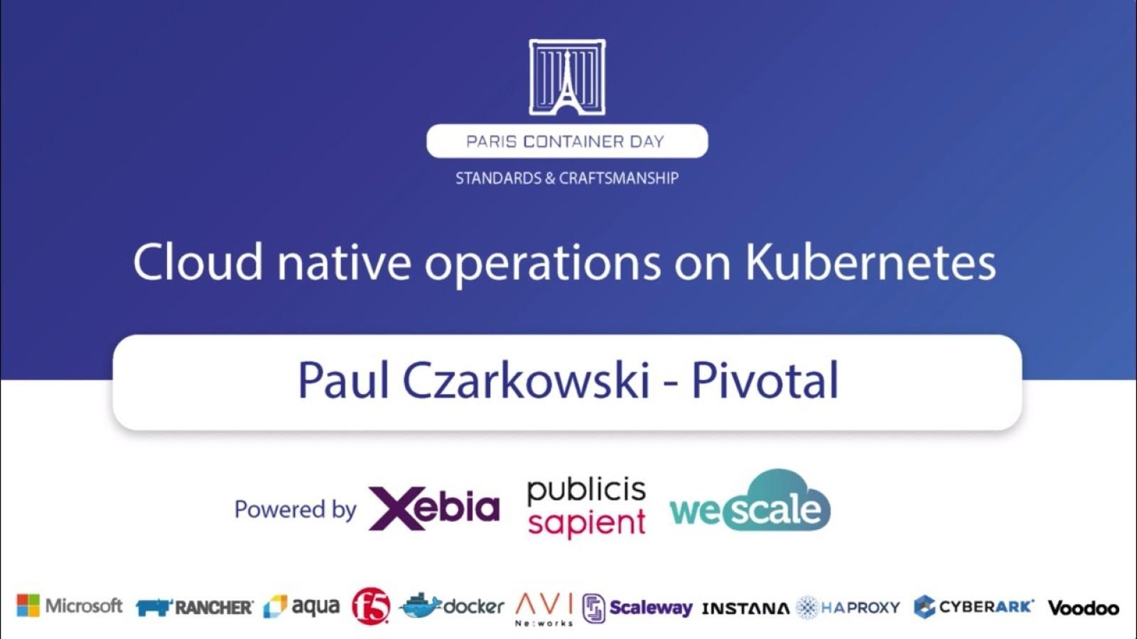 Presentations about Kubernetes on Notist