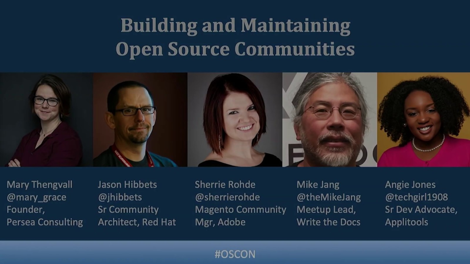 Building and maintaining open source communities