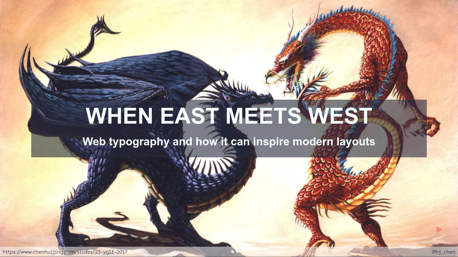When East meets West: Web typography and how it can inspire modern layouts