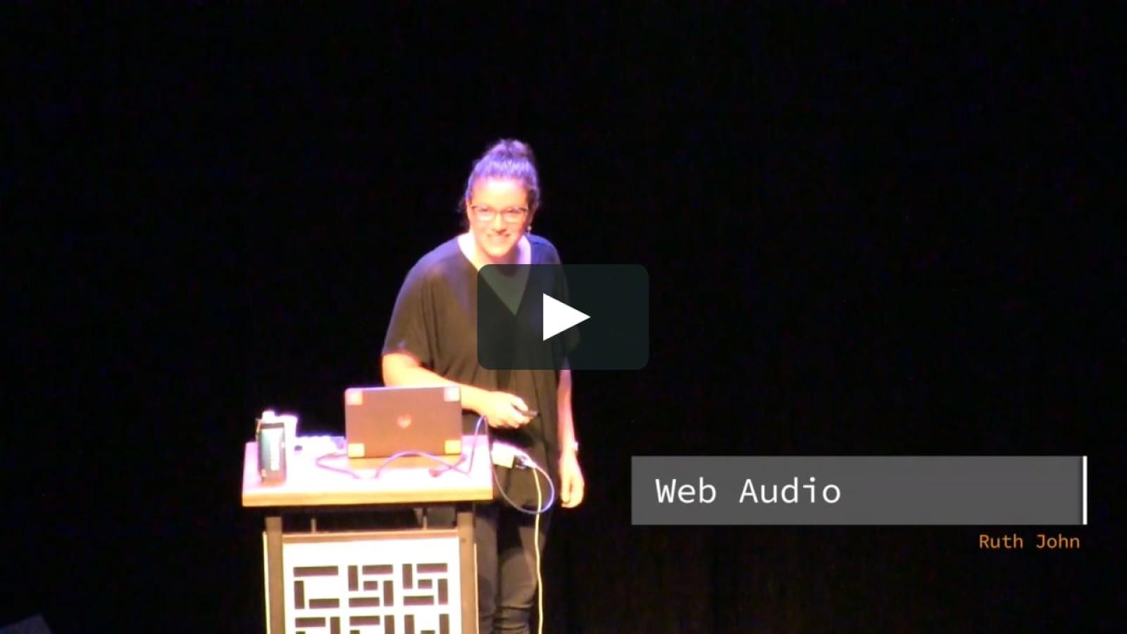 The Web Audio API (with a little bit of MIDI)