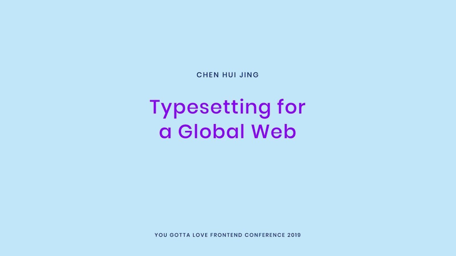 Typesetting for a global web