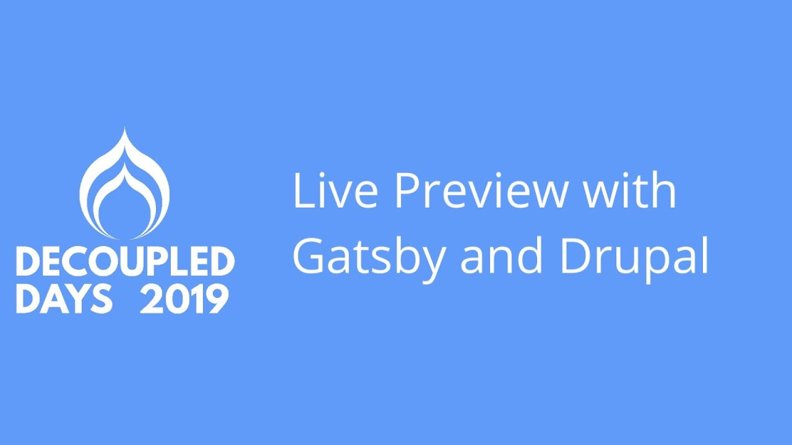 Live Preview with Gatsby and Drupal