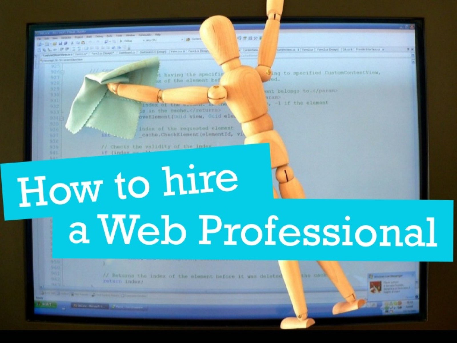 How to Hire a Web Professional