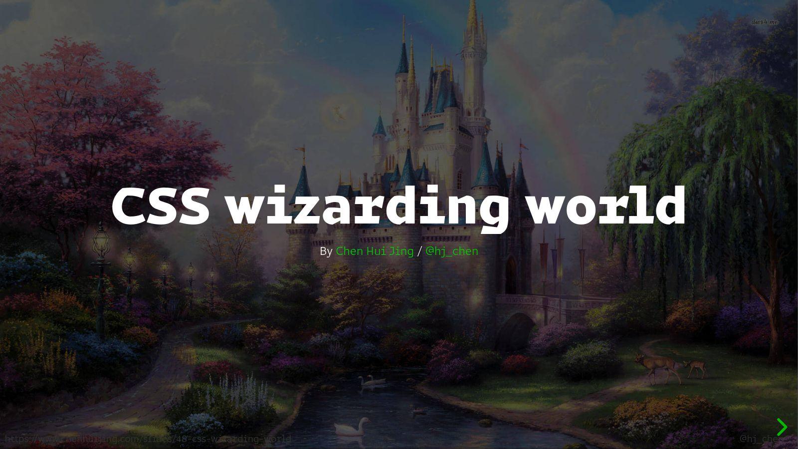 CSS Wizarding World