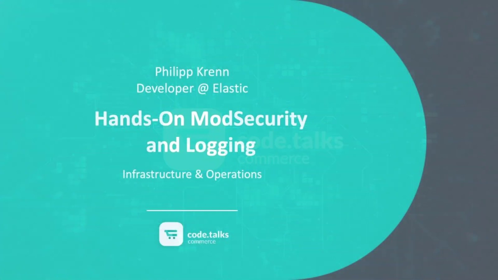 Hands-On ModSecurity and Logging