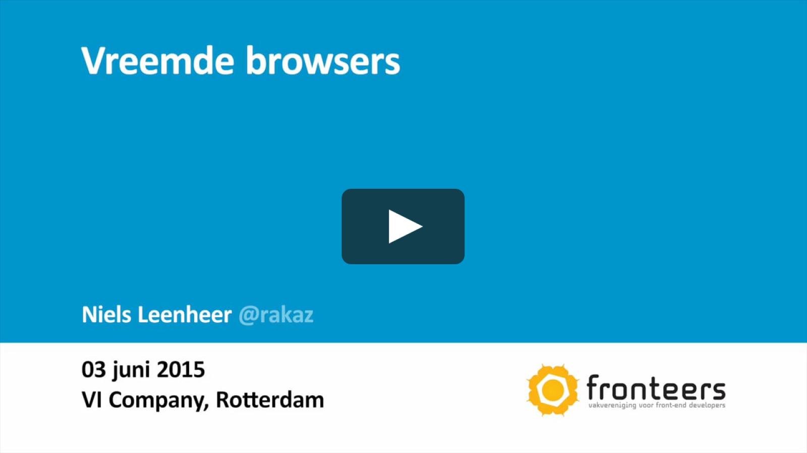 Vreemde Browsers