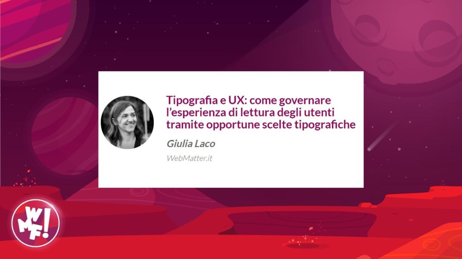 Tipografia e UX: come governare l'esperienza di lettura degli utenti tramite opportune scelte tipografiche