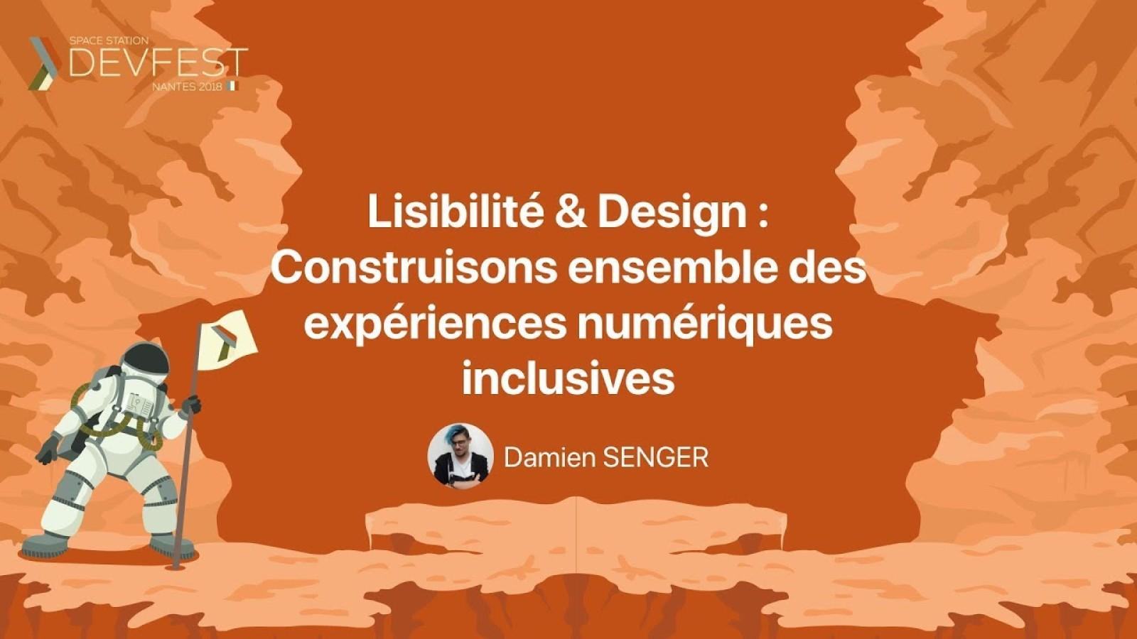 Lisibilité & Design : Construisons ensemble des expériences numériques inclusives