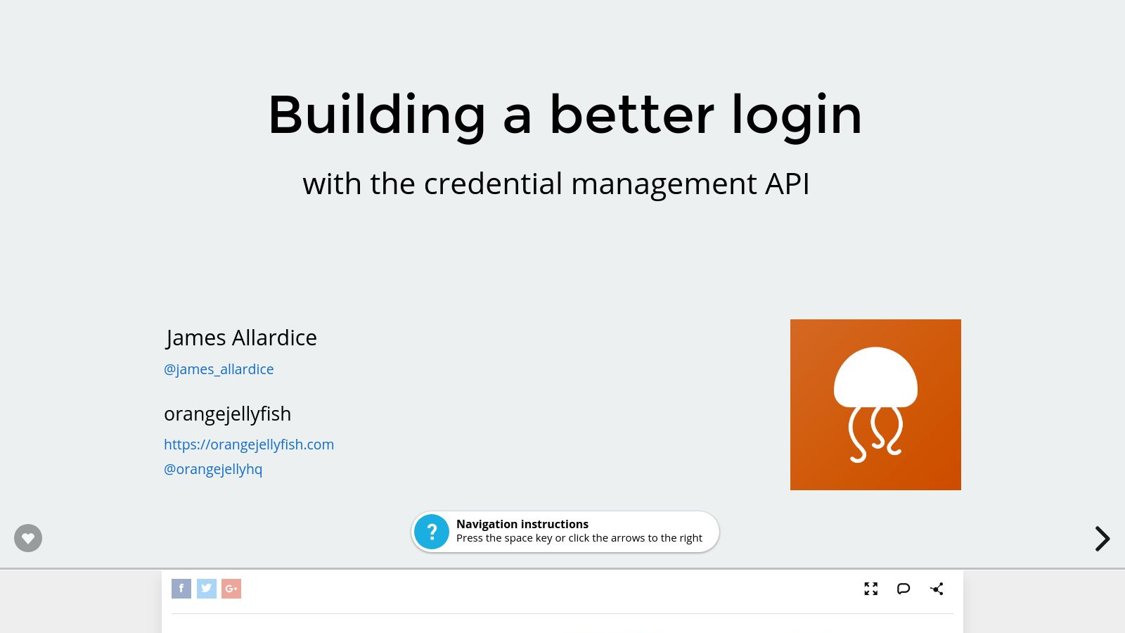 Building a better login with the Credential Management API