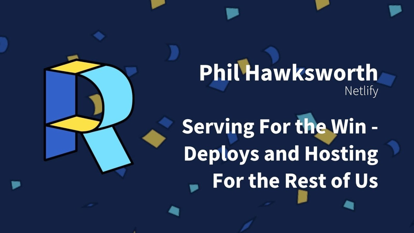 Serving for the win - Deploys and hosting for the rest of us