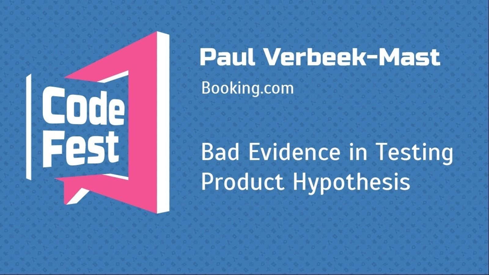 Bad Evidence