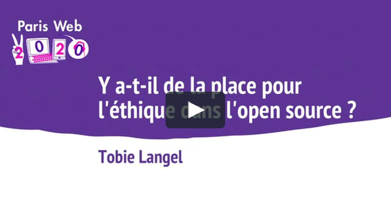Y a-t-il de la place pour l'éthique dans l'open source?