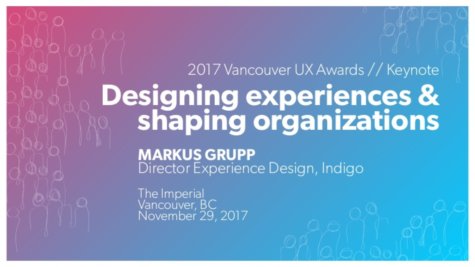 Designing Experiences & Shaping Organizations