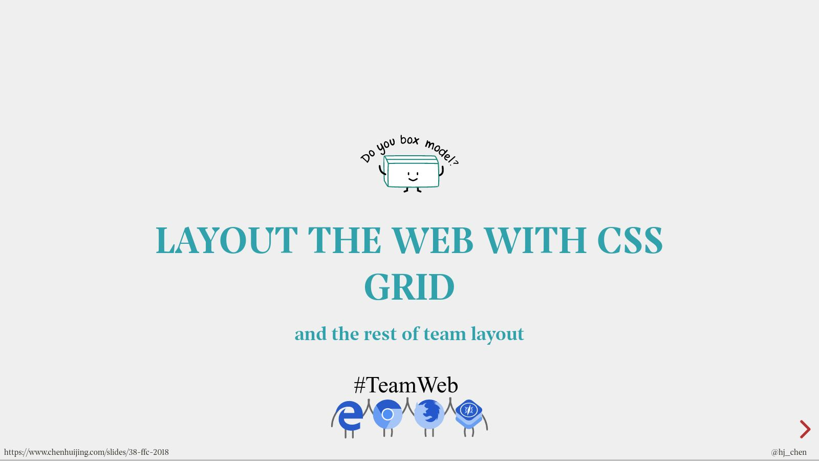 Layout the web with CSS Grid (and the rest of team layout)