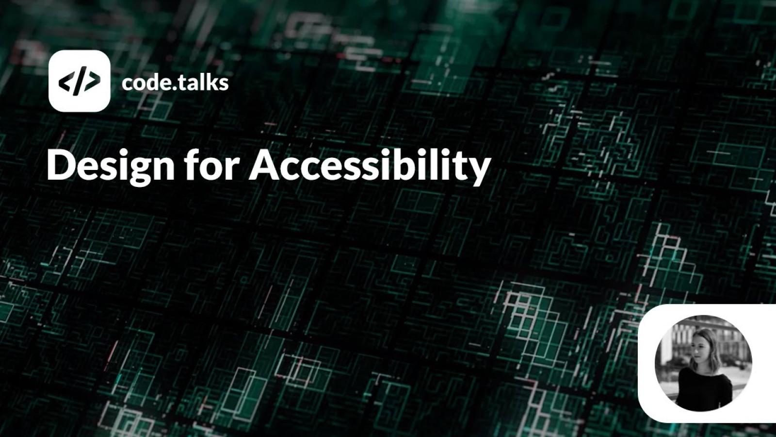 Design for Web Accessibility