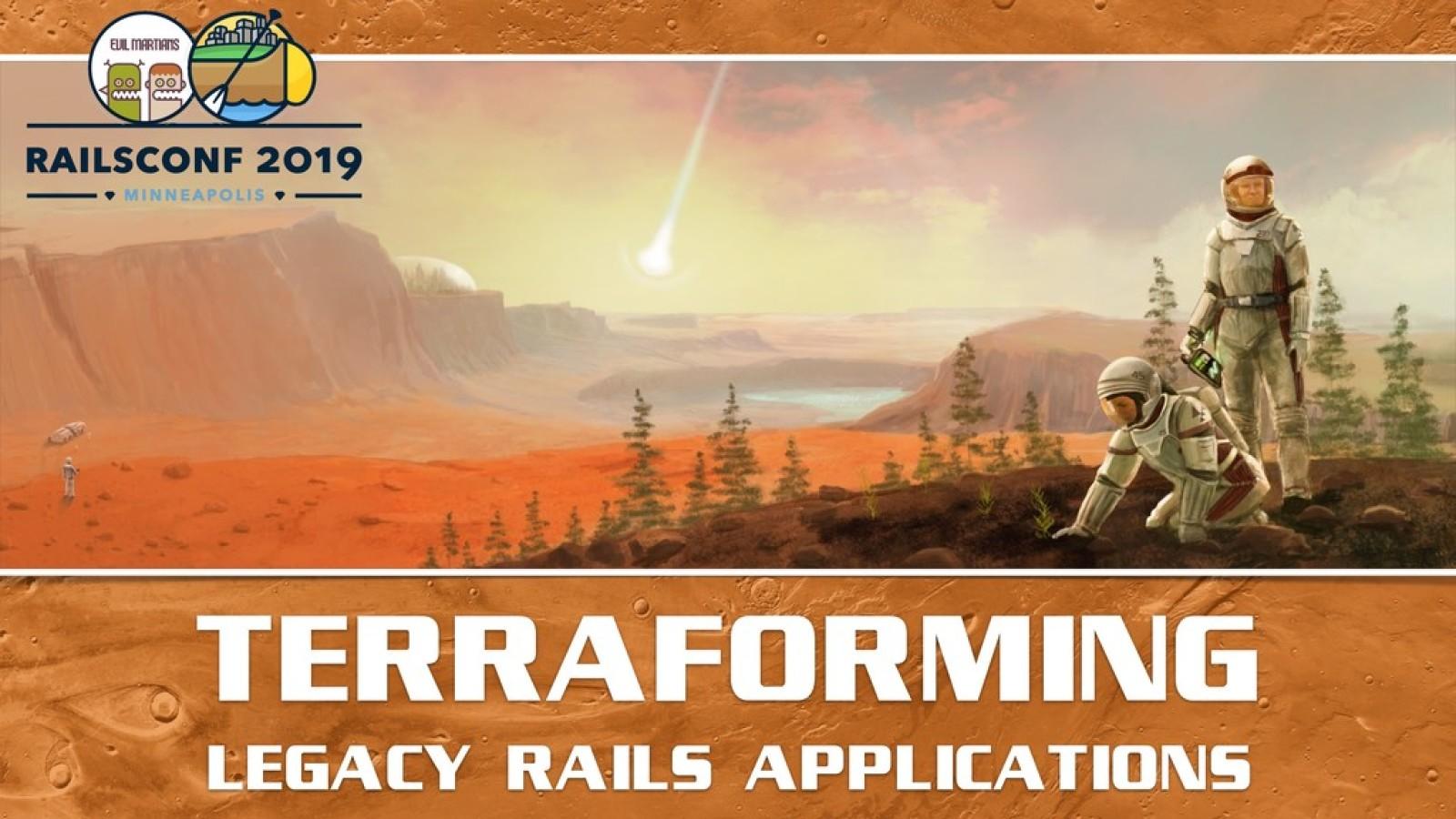 Terraforming legacy Rails applications