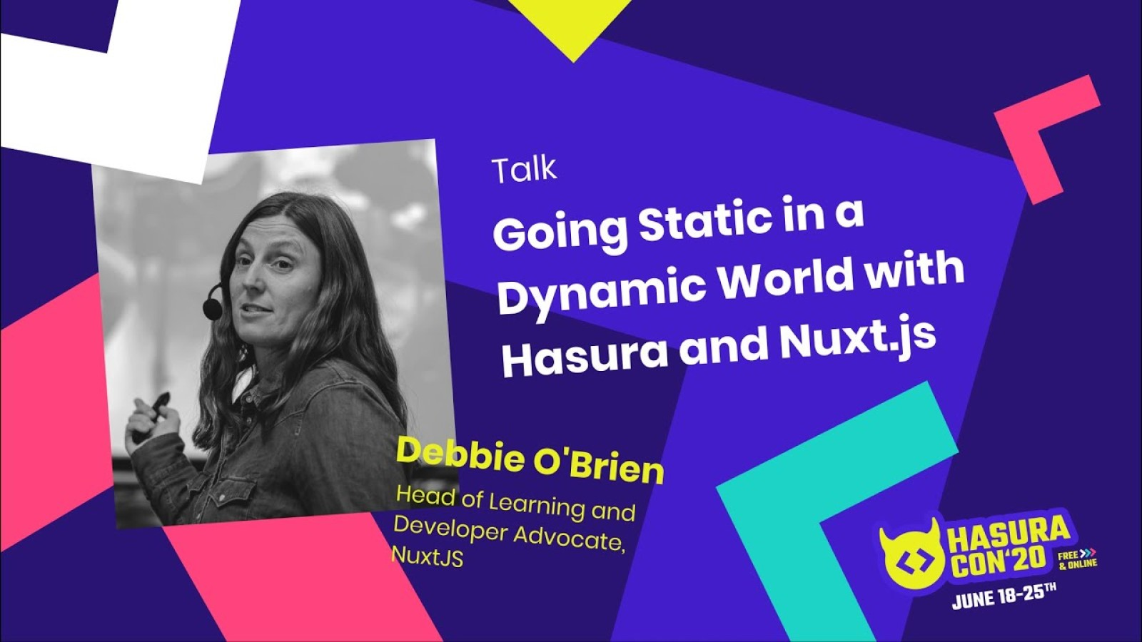 Going Static in a Dynamic World with Hasura and Nuxt.js
