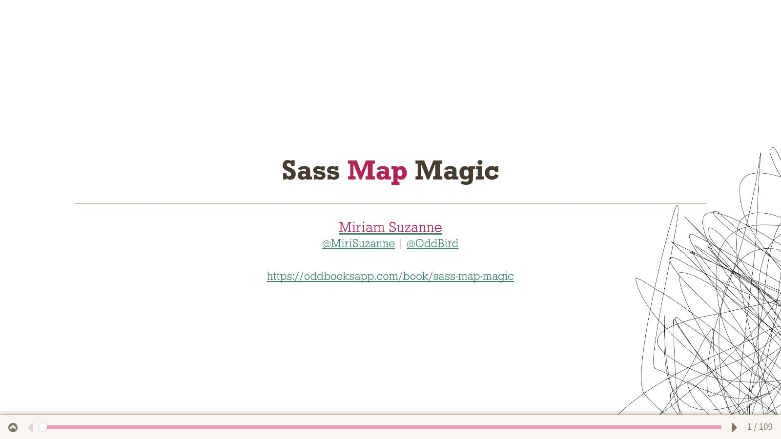Sass Map Magic