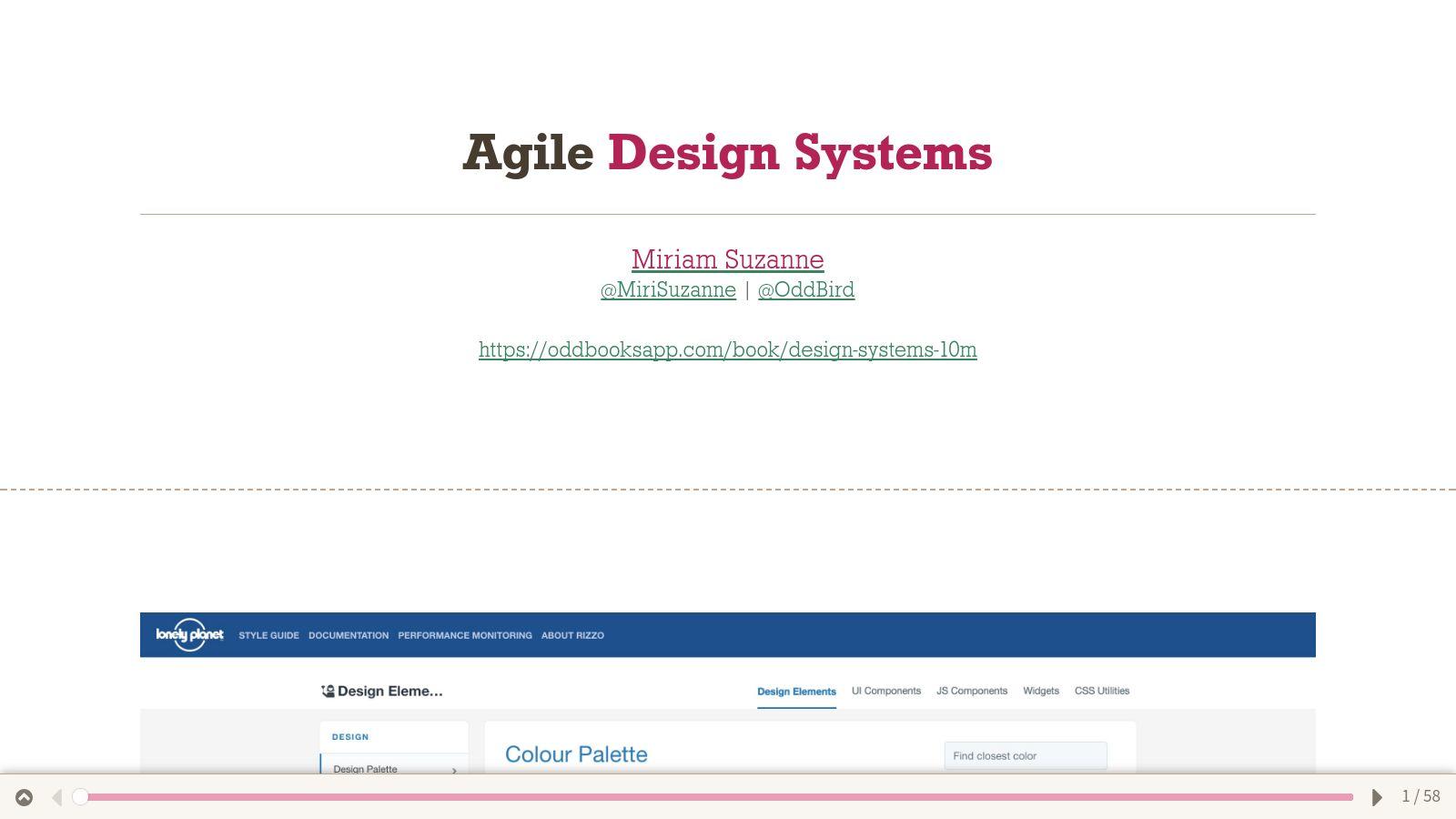 Agile Design Systems