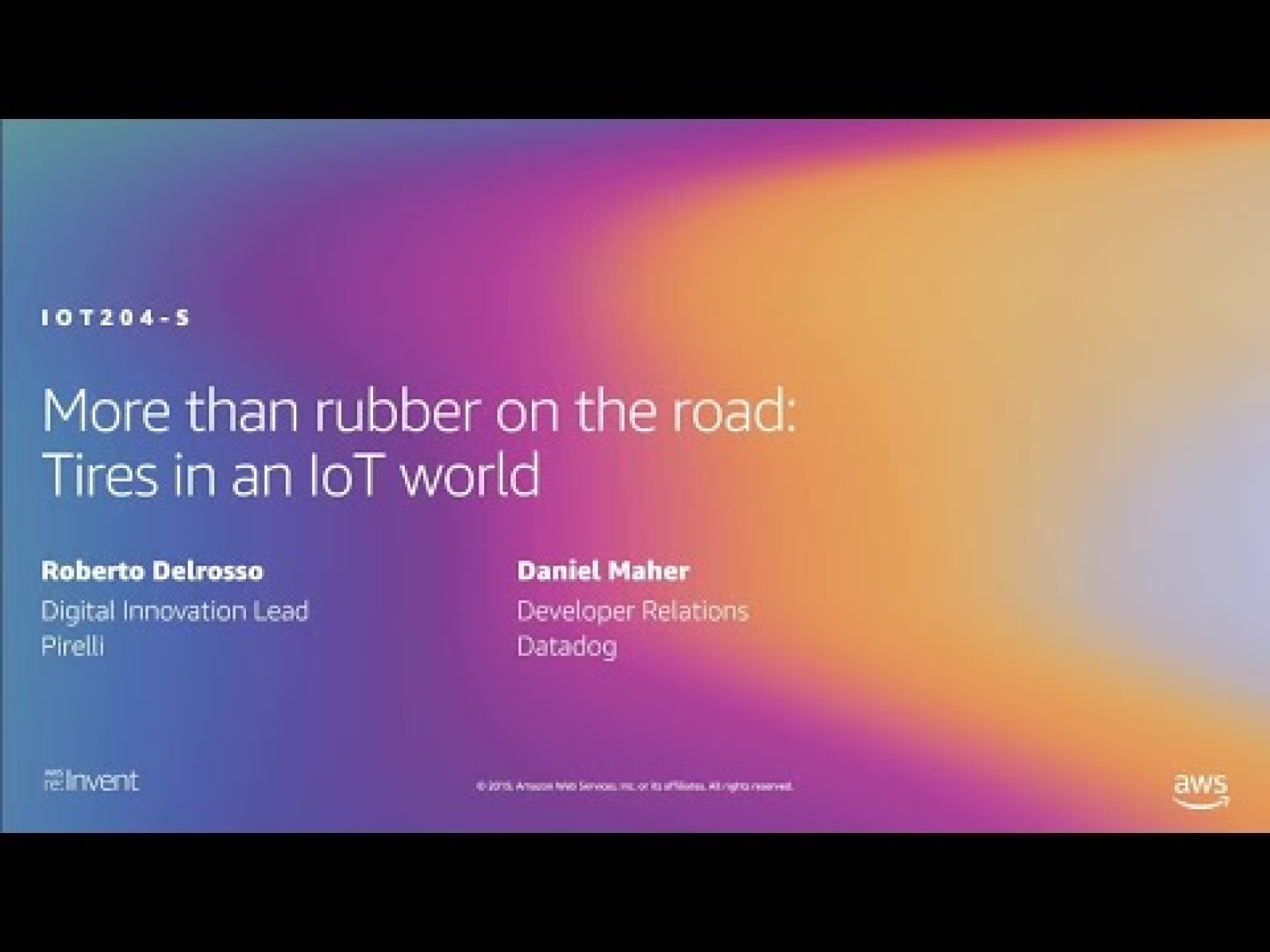 More than rubber on the road: Tires in an IoT world