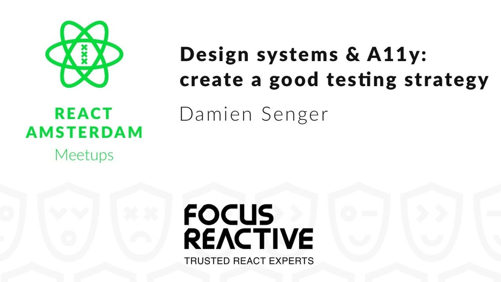 Design Systems & Accessibility: let's create a good testing strategy