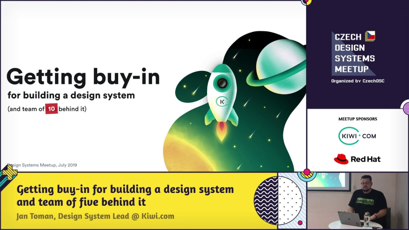 Getting buy-in for building a design system and team of five behind it