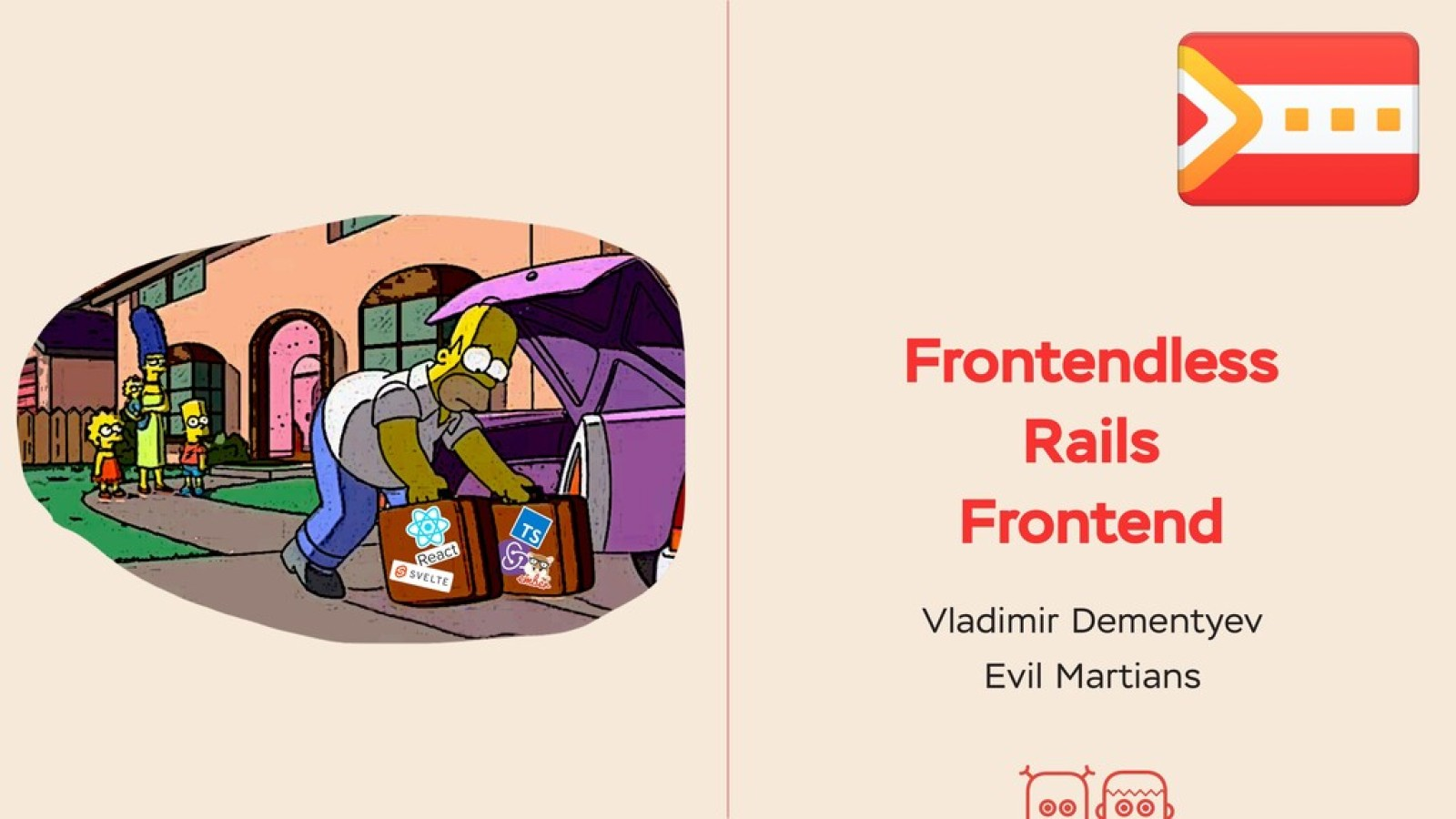 Frontendless Rails Frontend