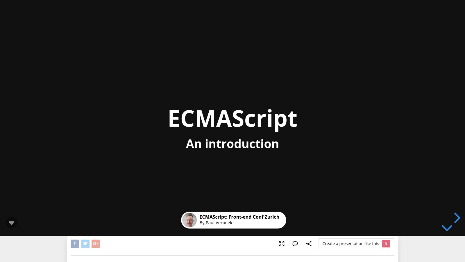 An Introduction to ECMAScript 2015