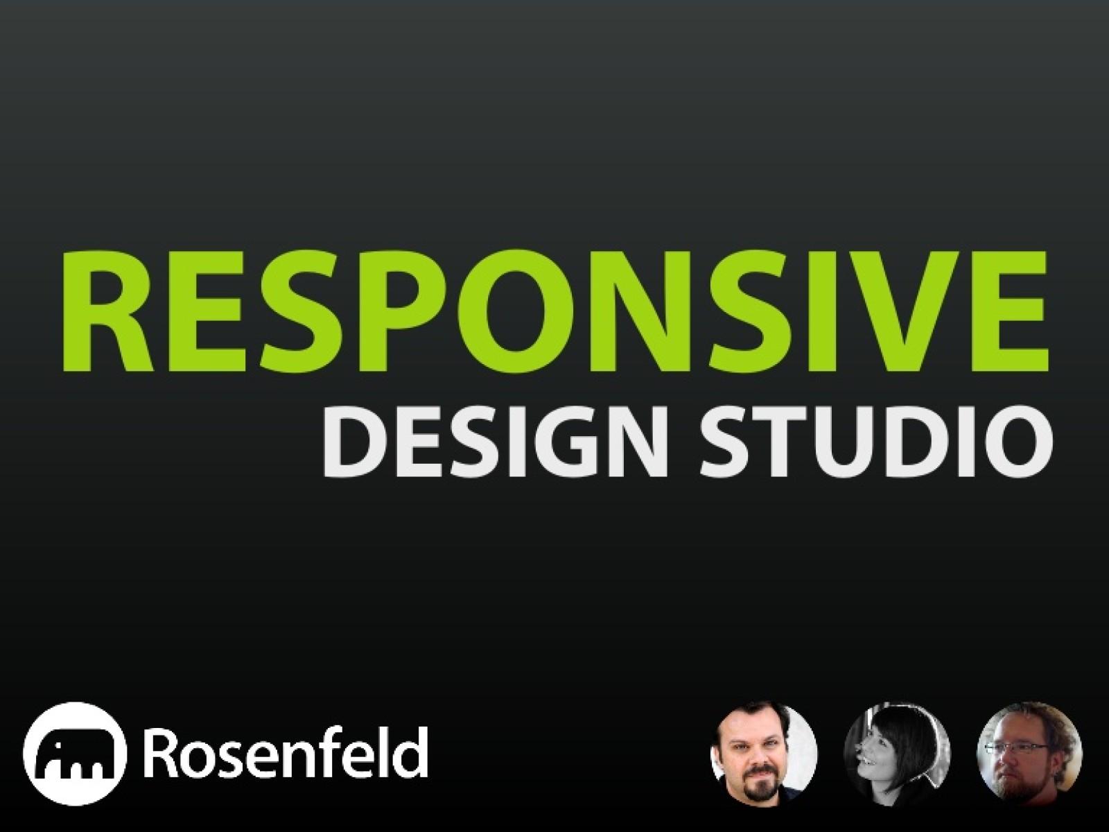 Responsive Design Studio [Workshop]