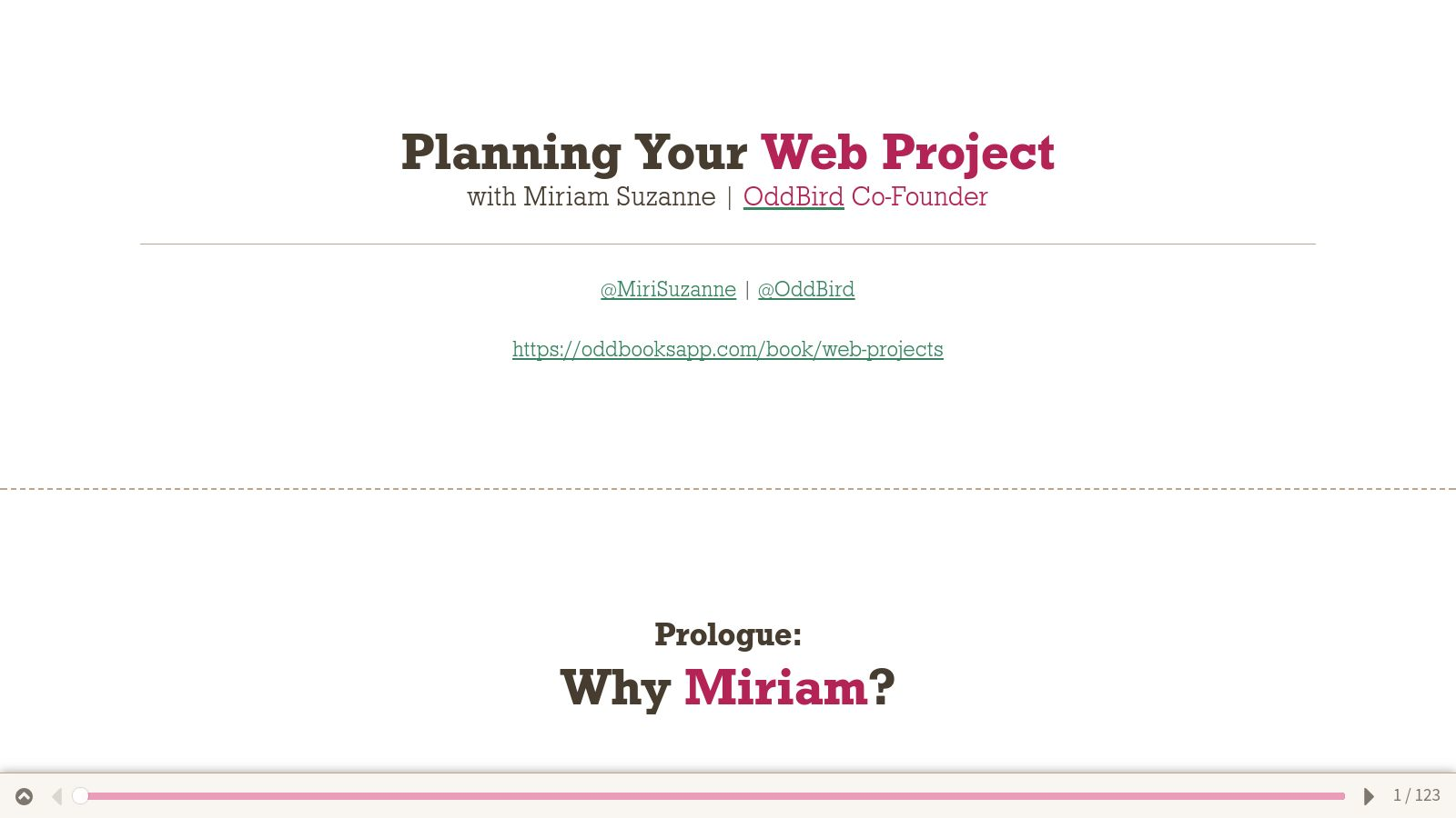 Planning Your Web Project by Miriam Suzanne