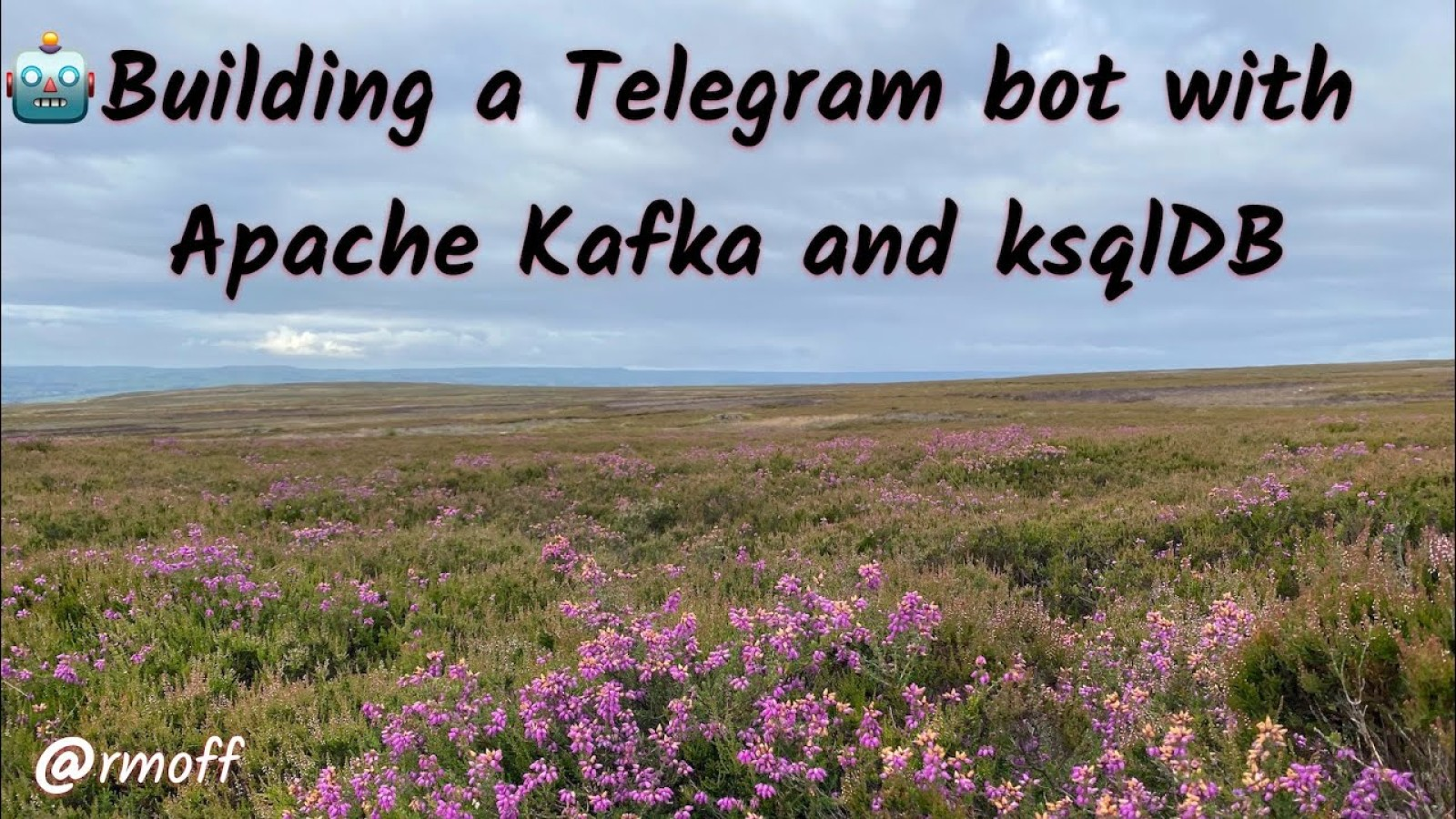 🤖 Building a Telegram bot with Apache Kafka, Go, and ksqlDB
