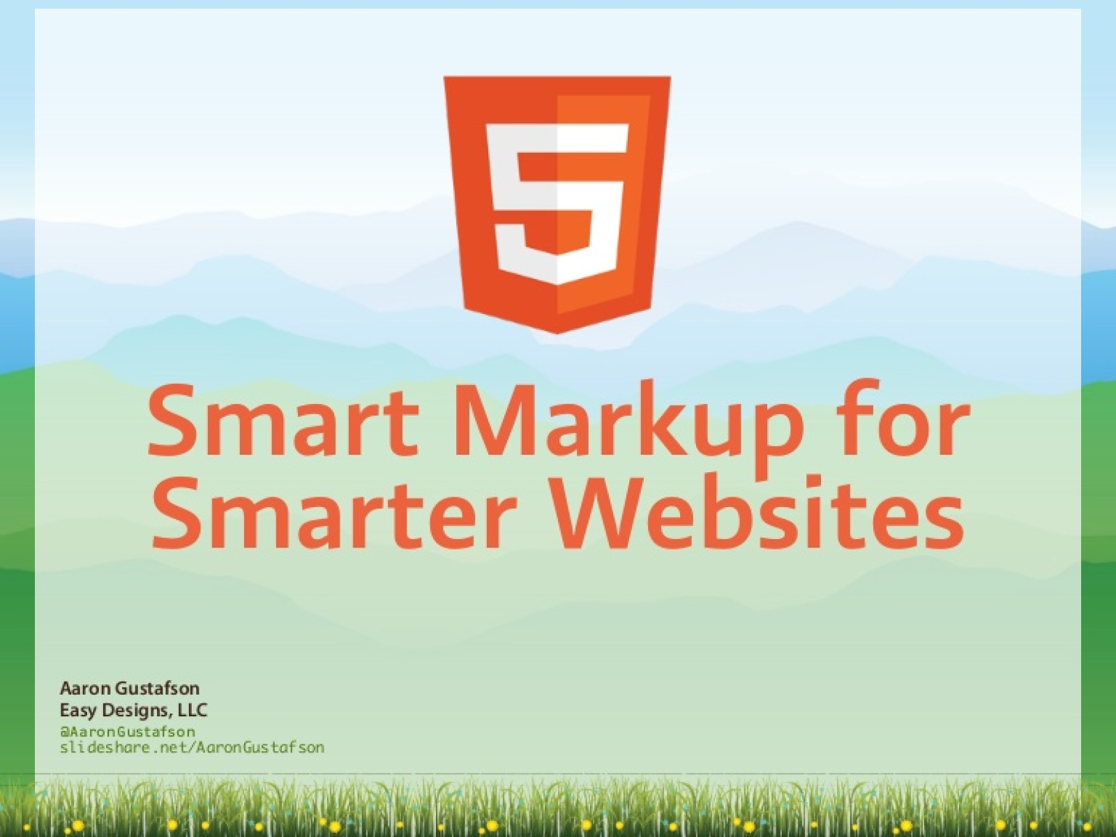 HTML5: Smart Markup for Smarter Websites