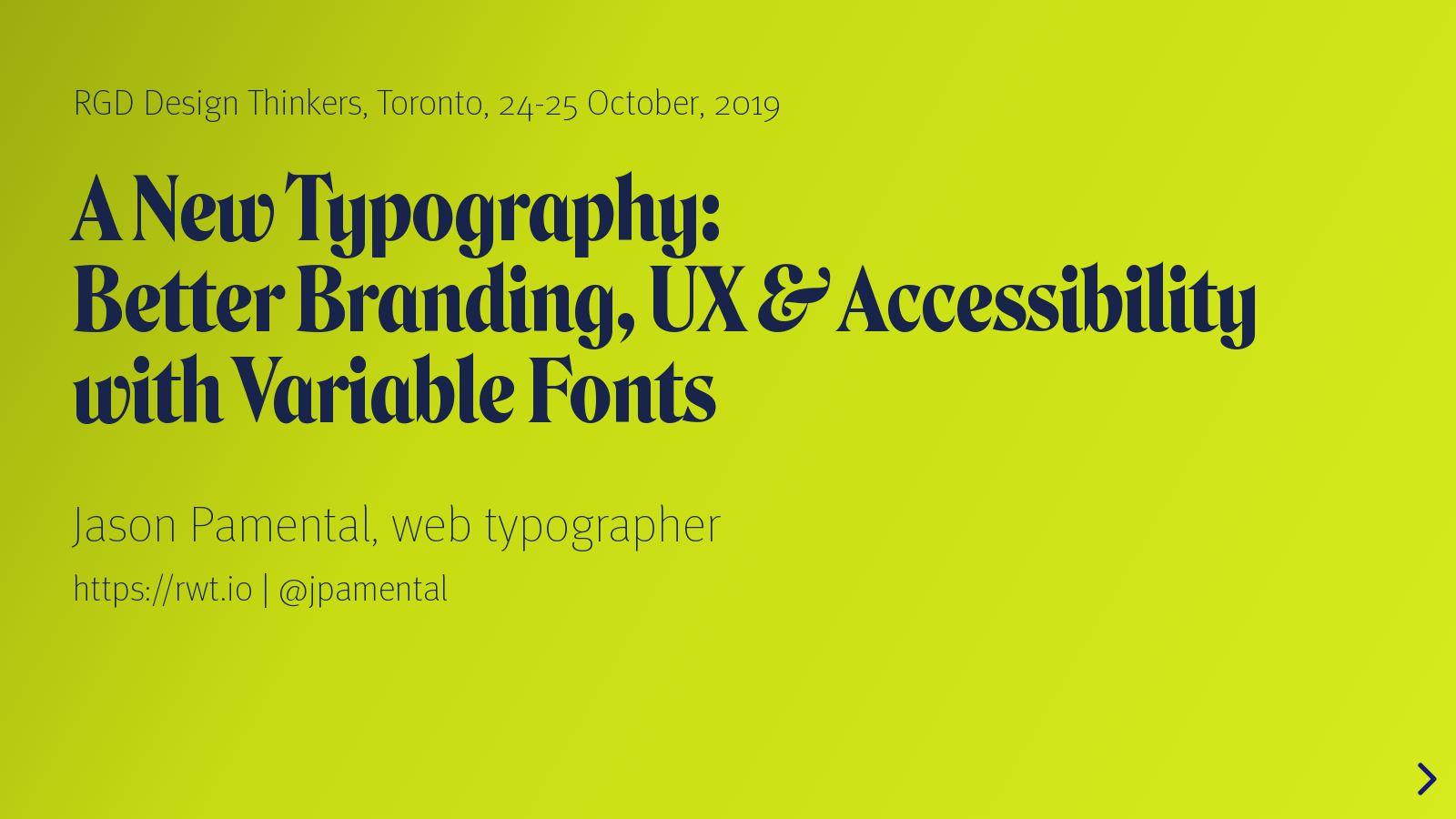A New Typography: Better Branding, UX, and Accessibility with Variable Fonts