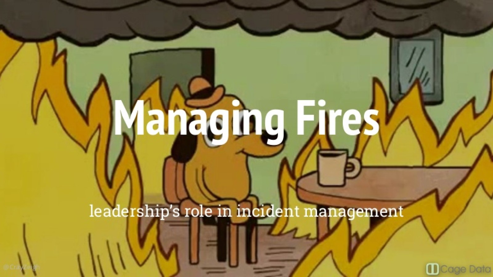 Managing Fires: Leadership through Crisis