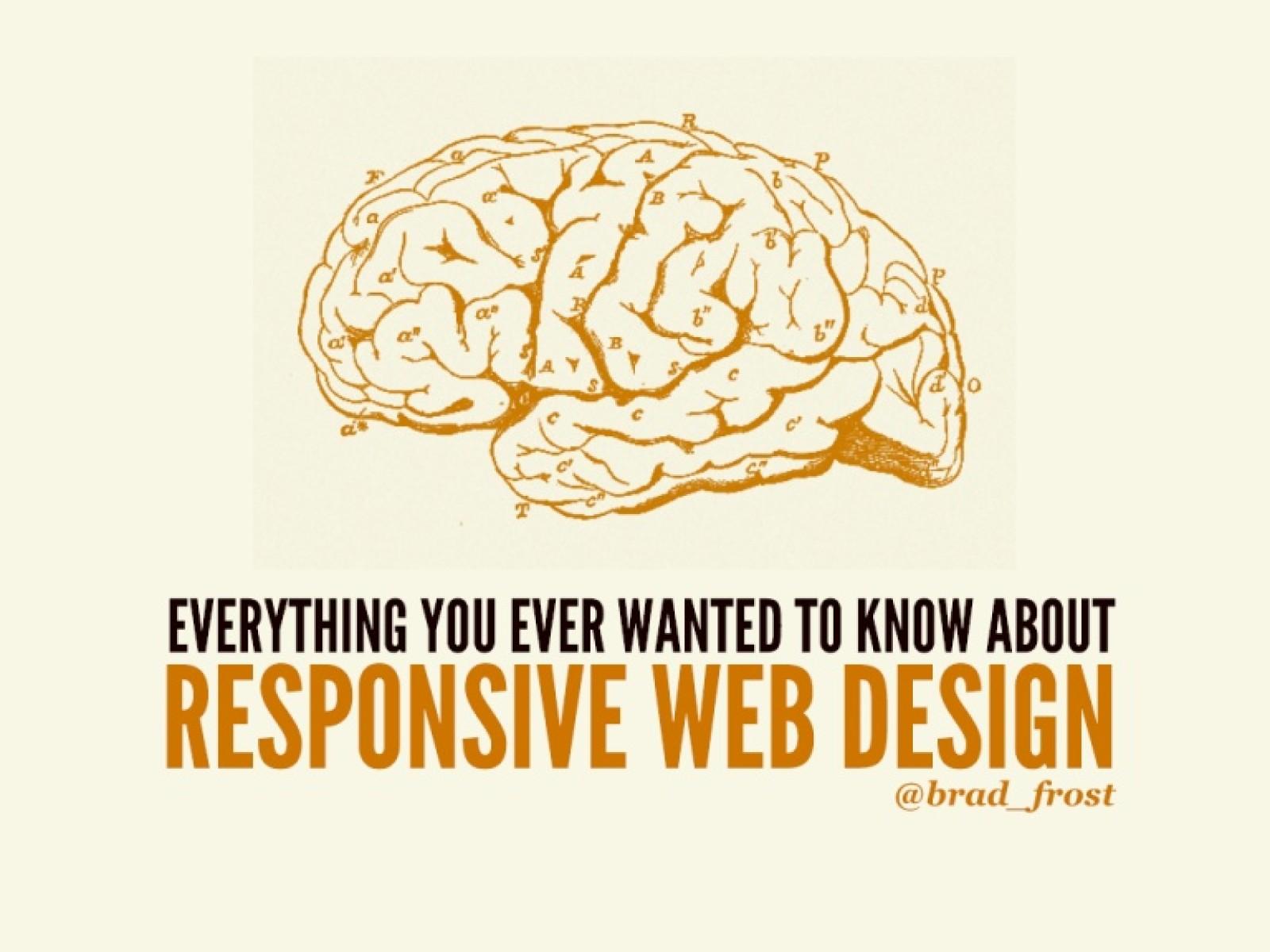 Responsive Design and Beyond [Workshop]