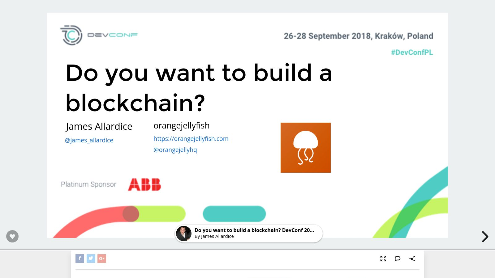 Do you want to build a blockchain?