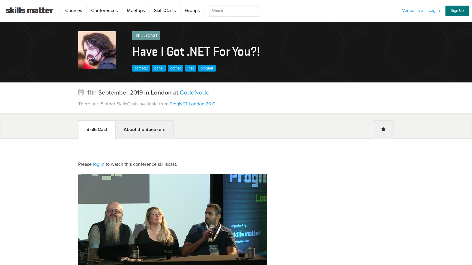 Have I Got .NET For You