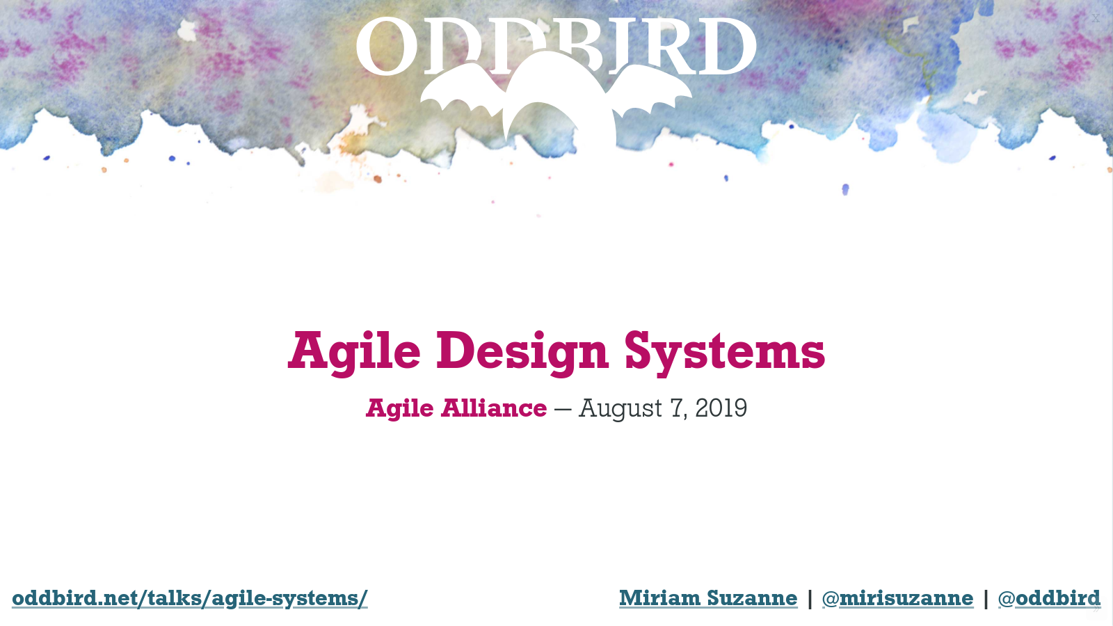 Agile Design Systems