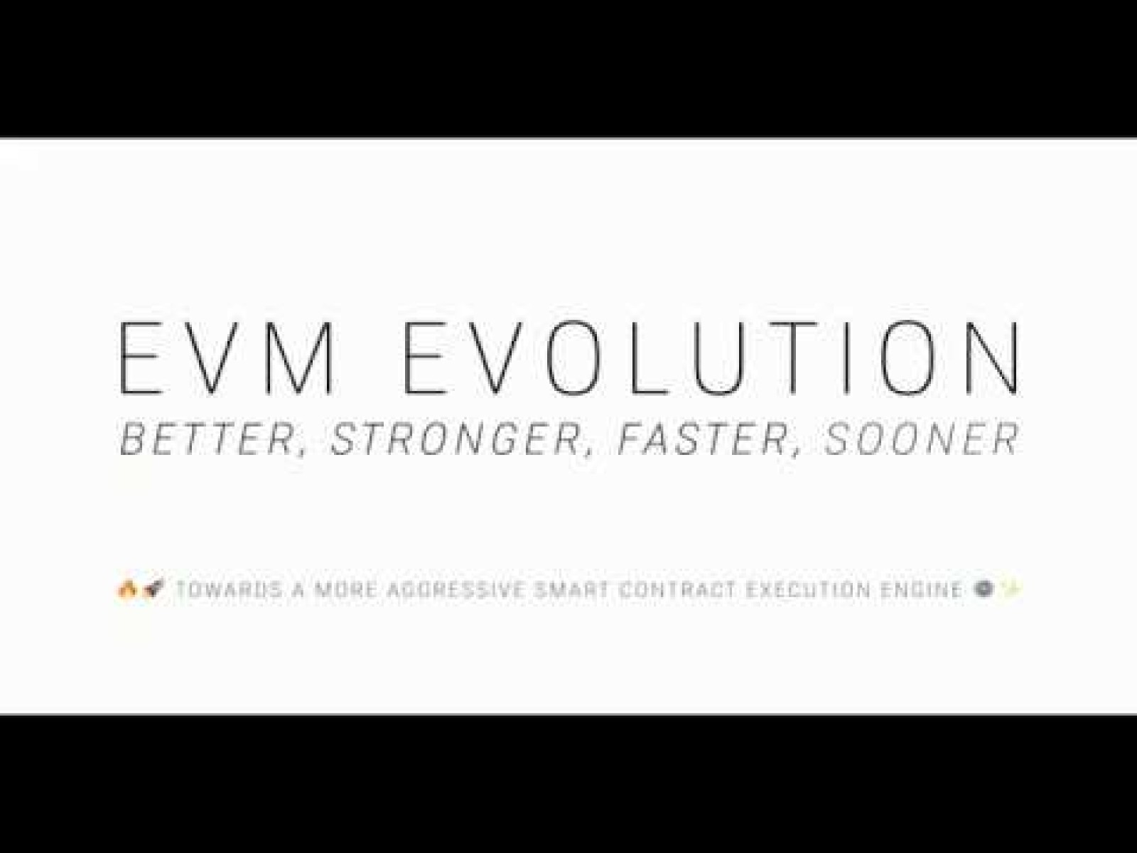 EVM Evolution: Towards a More Aggressive Execution Engine