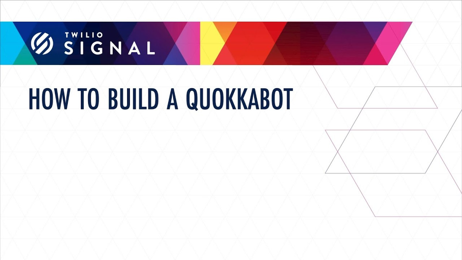 How to Build a Quokkabot